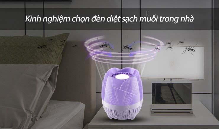 đèn bắt muỗi hiệu quả nhất hiện nay