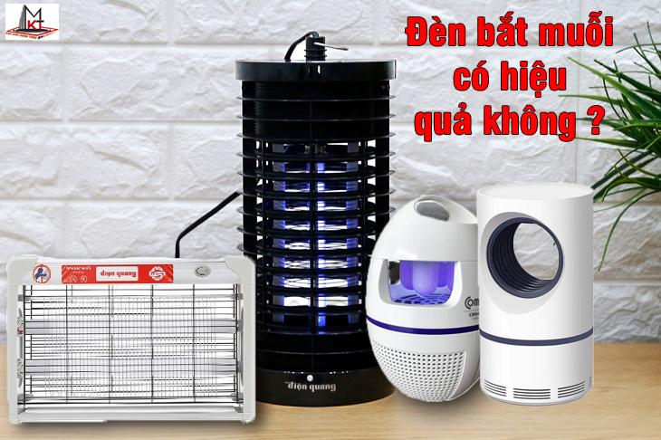 Có nên mua đèn bắt muỗi cho gia đình hay không?