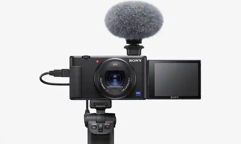 Hình ảnh: Máy ảnh Sony ZV-1