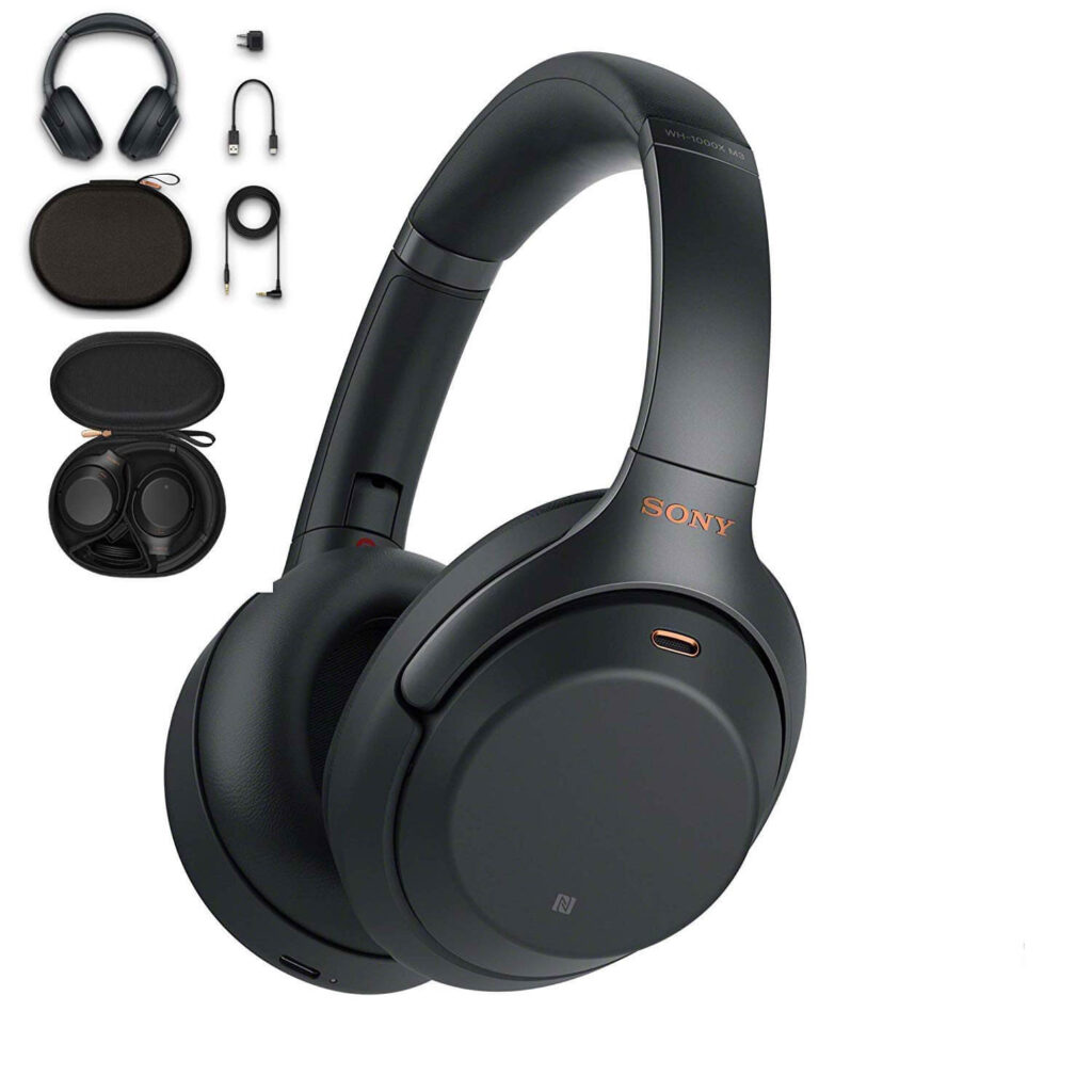 Tai nghe chụp tai bluetooth Sony WH-1000XM3 Hi-Res Noise Canceling