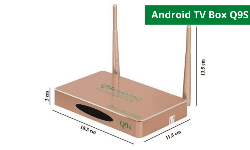 Android TV Box Q9S