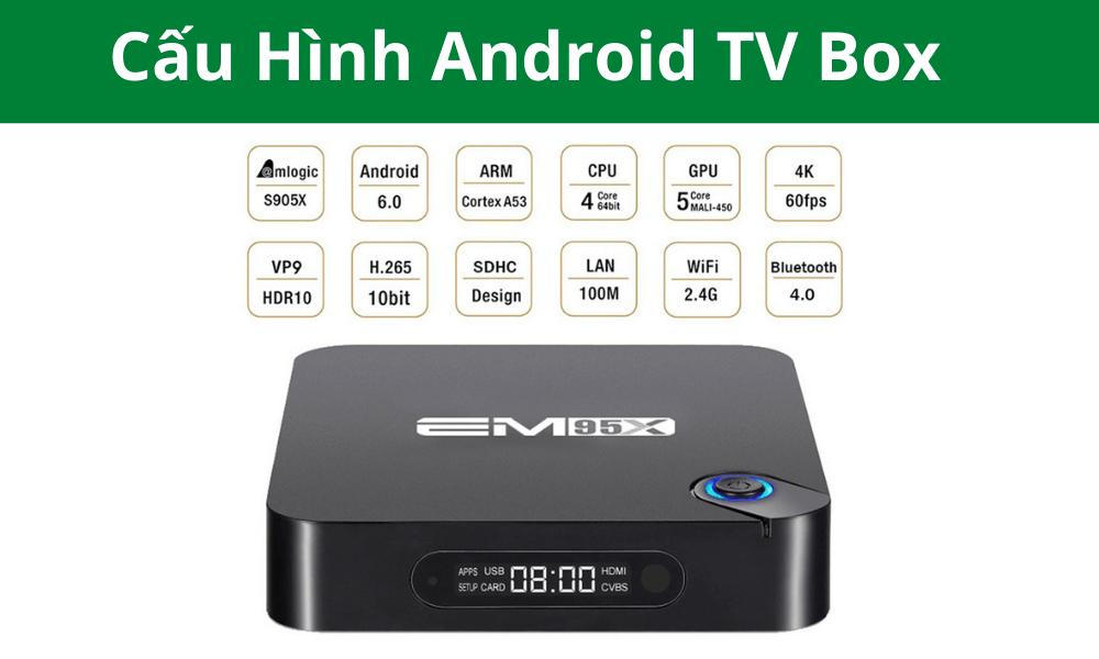 cấu hình Android TV Box